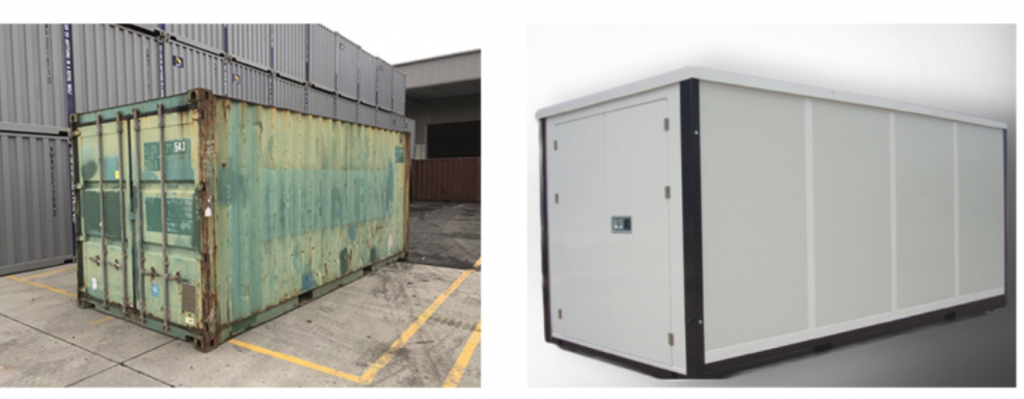 Mobile storage units-Makes moving and storage easy! - RT Portable Storage  Containers manufacture